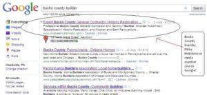 builder get ranked in google